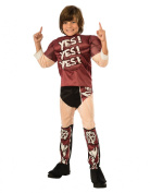 Daniel Bryant Costume, Kids WWE Outfit, Large, Age 8 - 10 years, HEIGHT 1.2m - 1.5m
