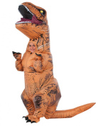 Jurassic World Costume, Kids Inflatable T Rex Outfit, Standard, Age 5 - 7 years, HEIGHT 1.2m - 1.2m