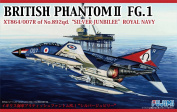 1/72 F Series No.59 British Phantom II FG.1 Silver Jubilee