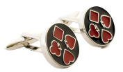 Playing Card Suit Cufflinks Choose from two designs