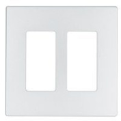 Cooper Wiring PJ262W 2-Gang Unbreakable Decorator Plate White