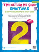 Alfred 00-37999 TWOGETHER WE SNG SPIRITUALS-BK & CD