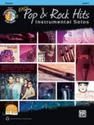Alfred 00-42978 EASY POP & ROCK INSTR SOLO-CL-BK & CD