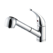 Design House 545889 Milano Kitchen Pullout Faucet Polished Chrome