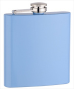 FJX Wholesale HFL-PD004B 180ml Baby Blue Painting Flask