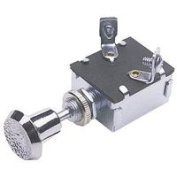 Calterm Inc Chrome Push/Pull Switch 42200
