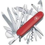 Swiss Army Brand Inc. Knife Pockt 34-In-1 Chmp 3-1/2 53501
