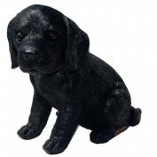 Michael Carr Designs MCD80099 Shadow Black Labrador Puppy Small