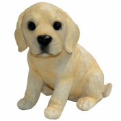 Michael Carr Designs MCD80103 Yellow Labrador Puppy Small