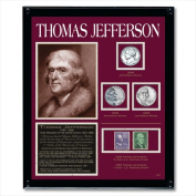 American Coin Treasures 807 Jefferson Framed Tribute Collection