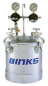 Binks BIN-83C-220 Pt II A. S. M. E. Code Pressure Tank Double Regulation