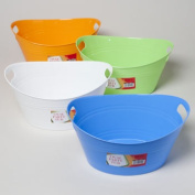 RGP 41540P 5.25 X 12.5 Basket Oval Tub With Double Handles 4 Colours- Pack Of 48