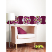 WallPops WP0002 Very Berry & Blackberry Dots Wall Decals