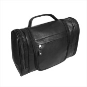 Canyon Outback Leather T527-03 Hackberry Canyon Hanging Leather Toiletry Bag Black