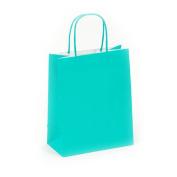 Flomo GB534NM Narrow Medium Turquoise Green Gift Bag Case of 60