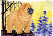 Carolines Treasures SS8603PILLOWCASE 50cm x 80cm . Chow Chow Moisture Wicking Fabric Standard Pillowcase