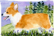 Carolines Treasures SS8912PILLOWCASE 50cm x 80cm . Corgi Moisture Wicking Fabric Standard Pillowcase