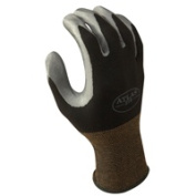 Showa Best Glove 370BXL-09.RT Extra Large Atlas 370 Nitril Black Glove
