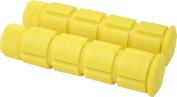 DUO Bicycle Parts 57CWG9755RY Handle Bar Grip 120 mm Yellow
