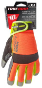 Big Time Products 9844-23 Safety Max Hi-Viz High-Performance Work Gloves Extra Large