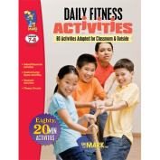 On The Mark Press OTM411 Daily Fitness Activities Gr. 7-8