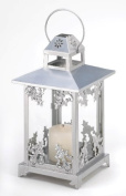 Zingz & Thingz 57070449 Frosted Vines Candle Lantern