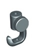 Systematic Art CEBH226 Micro Picture Hanging Side Screw Hook