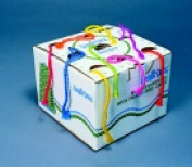 Trait-Tex 4-Ply Jumbo-Weight Yarn Cone Set - Assorted Neon Colour Set - 9
