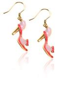Whimsical Gifts 3599G-ER High Heel Sandal Charm Earrings Gold