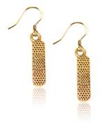 Whimsical Gifts 680G-ER Band Aid Charm Earrings Gold