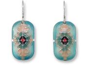 Zarah 21-14-Z1 Tabriz Silver Plate Earrings