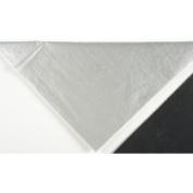 Deluxe Small Business Sales 11-01-7 50cm x 80cm . Metallic Tissue Paper Silver