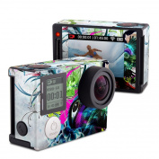 DecalGirl GPH4S-STRMEYE GoPro Hero4 Silver Skin - Streaming Eye