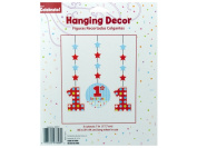 Bulk Buys PA277-72 1St Birthday Hanging Decor Cutouts