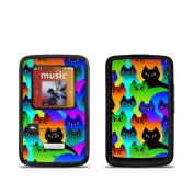 DecalGirl SSCZ-RCATS SanDisk Sansa Clip Zip Skin - Rainbow Cats