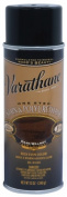 Rustoleum 243870 350ml Dark Walnut One Step Oil Based Stain & amp; Polyurethane Spray - Pack of 6