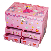 Trousselier Musical Jewellery Box Fairy and Castle