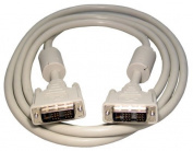 Max Value DVI-D Single Link, Male to Male, 2 Mtrs, Beige