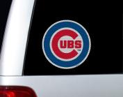 Fremont Die 66216 Diecut Window Film - Chicago Cubs