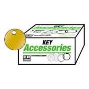 Hy-Ko Products KB148 Large Brass Round Keytag