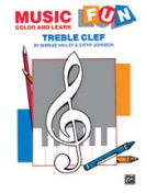 Alfred 00-EL03373 Music Fun- Colour and Learn - Music Book