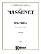 Alfred 00-K03676 Massenet Meditation Fr.Thais O Book