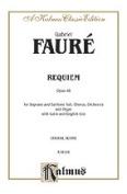 Alfred 00-K06166 FAURE REQUIEM V