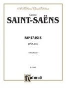 Alfred 00-K03846 Saint Saens Fantasie Op. 101 O Book