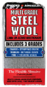 Homax Products 10121114 12 Pack Steel Wool Pad Assorted