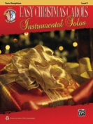 Alfred 00-38757 EASY CMAS CAROLS INST SOL-TX-BK & CD