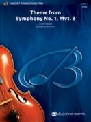 Alfred 00-38443S S Theme-Symphony No.1 Move 3-Bcs Book