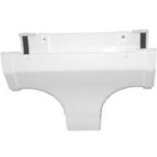 Genova Products Inc Hiflo Drop Outlet White Pvc HRW107