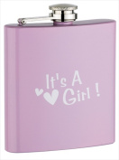FJX Wholesale HFL-PD004PG 180ml Pink Painting Girl Flask