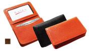 Raika VI 156 COGNAC Gussetted Card Case - Cognac